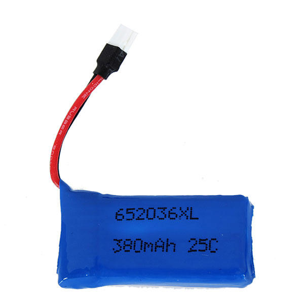 Upgraded 25C 3.7V 380MAH Battery For Hubsan X4 H107 Ladybird