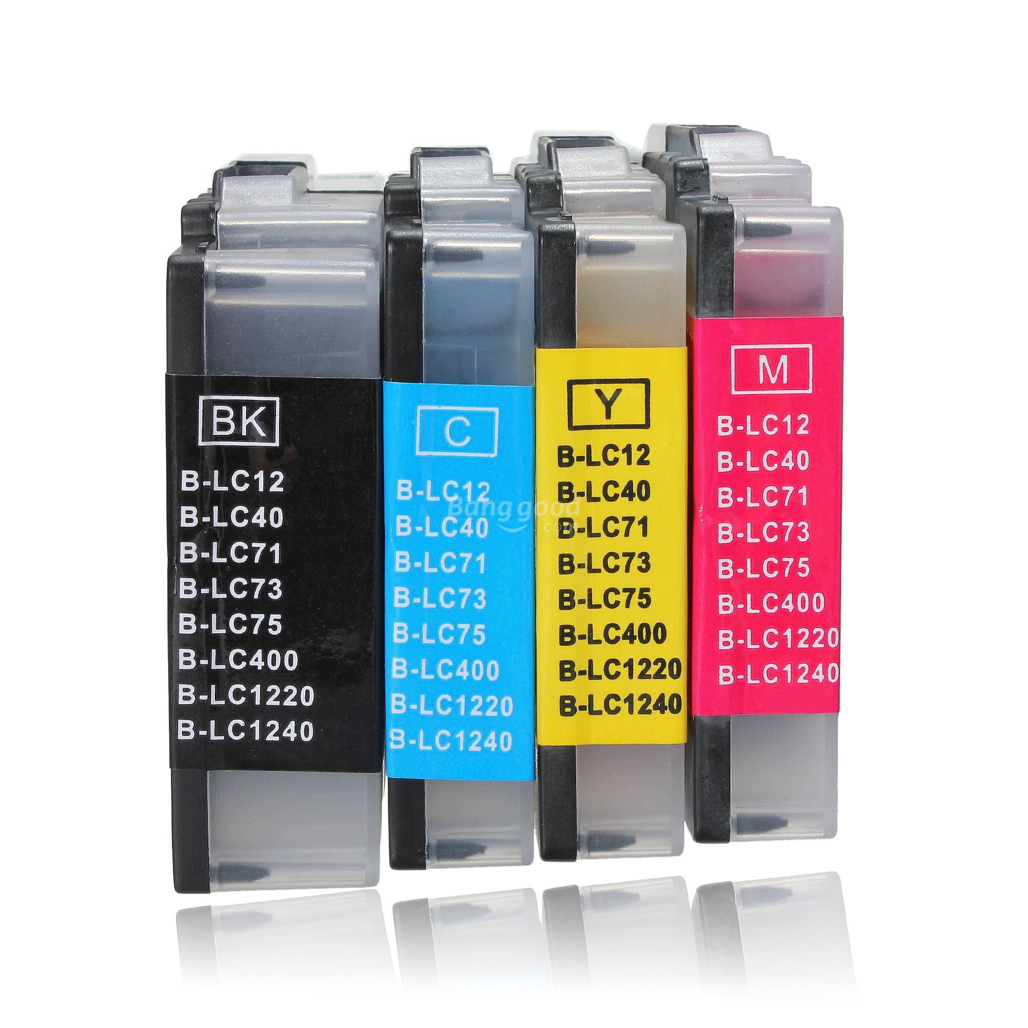 Ink Cartridge LC12/17/73/77/75/79/400/450/1240/1280for Brother Printer - US$2.81 sold out