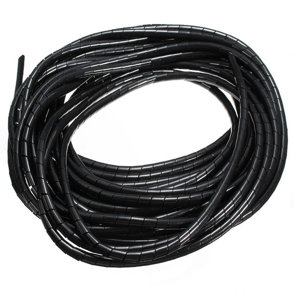 5m spiral kabel wickeln schlauch managen kabel f r pc computer haus kabel 4 50mm us. Black Bedroom Furniture Sets. Home Design Ideas