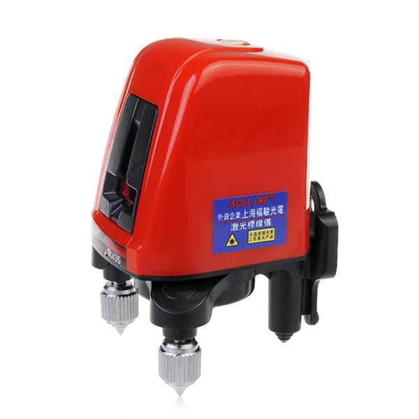 ACULINE AK435 360 degrés auto-réglage du niveau Niveau du Laser Cru 1V1H Rouge 2 Ligne 1 Point