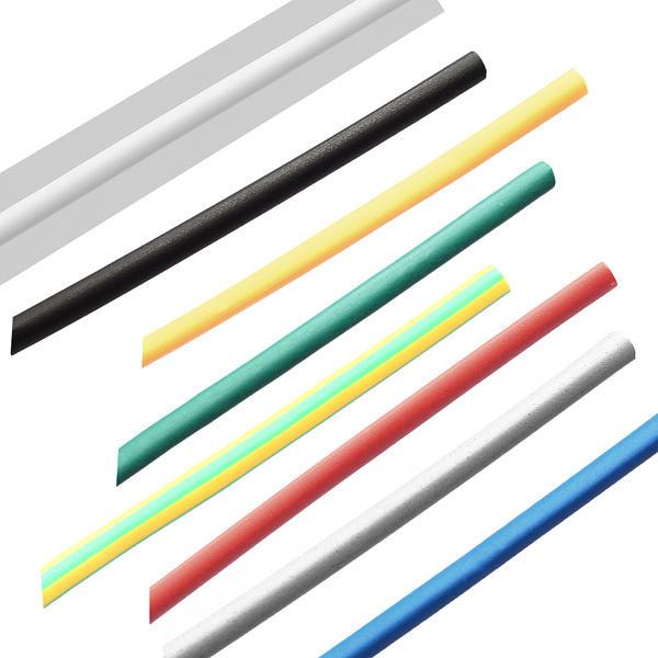 1m 4.0 millimetri 7 colori 2: 1 impacco poliolefina tubo termorestringente guaina
