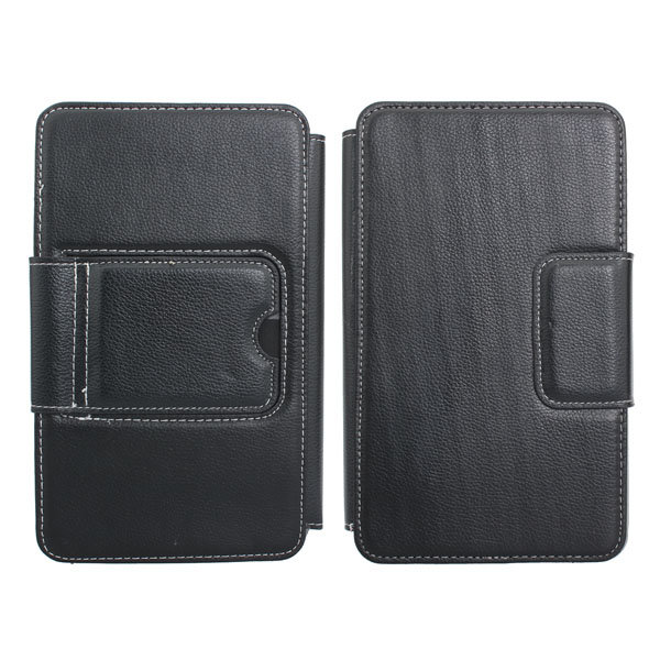 Keyboard Leather Case Cover Pouch With Stand For 7 Inch Tablet