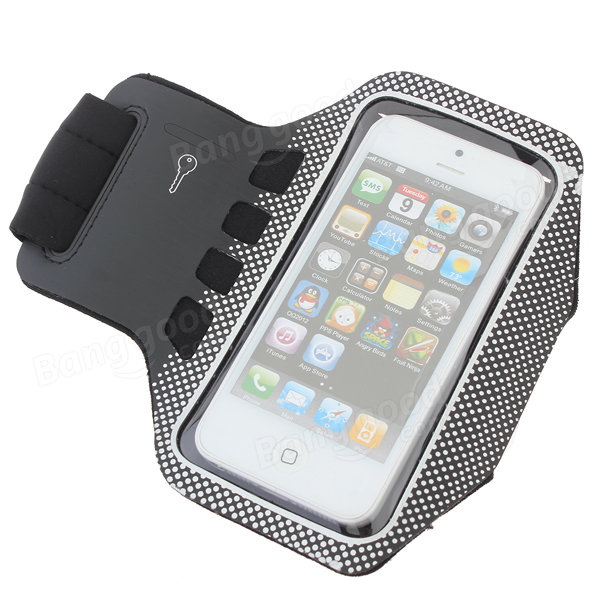 Wave Point Sport Gym Running Armband Case For iPhone 5 5S ...