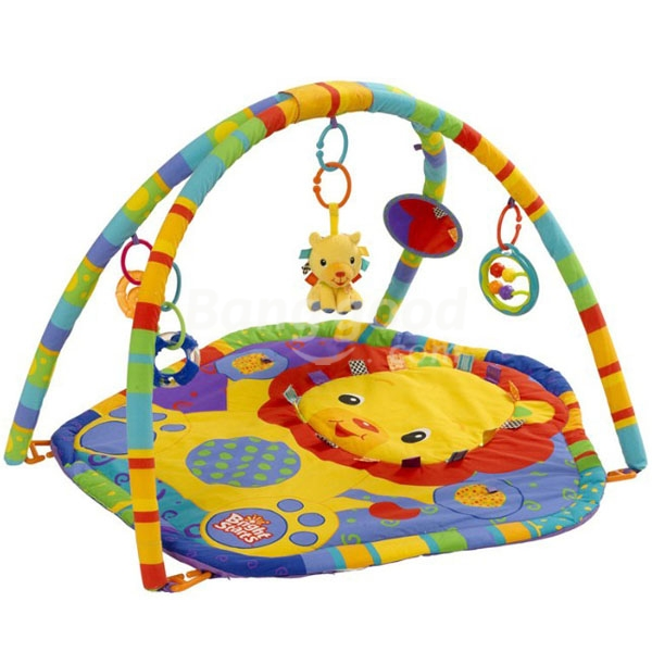 Cuty Lion Style Baby Infant Music Play Gym Game Mat Pad