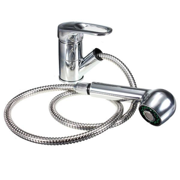 Polo retrait bassin de cuisine pulvérisation monobloc mitigeur lavabo robinet