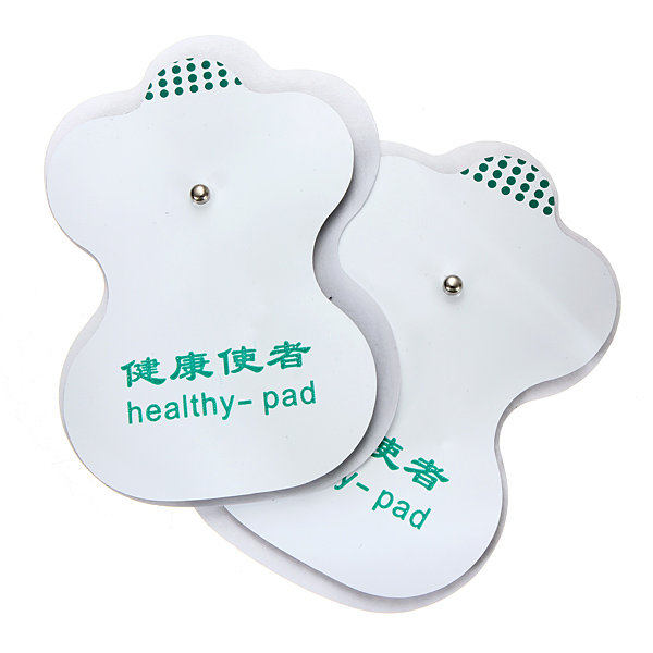 2 Pair Tens Squishies Squishy Adhesive Electrode Pads For Acupuncture Digital Therapy COD