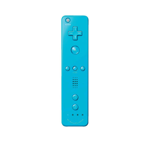 Motion Plus Remote Controller for Wii & Wii U Water Blue