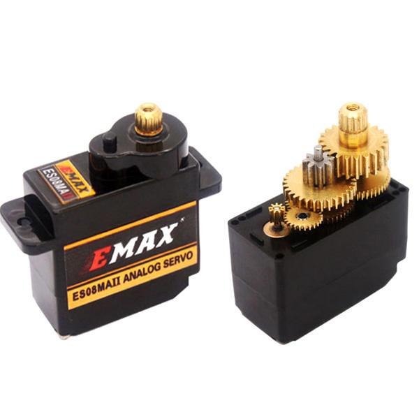 EMAX ES08MA II Servo Analogique de Mini Engrenage Métallique de 12g pour Modèle RC