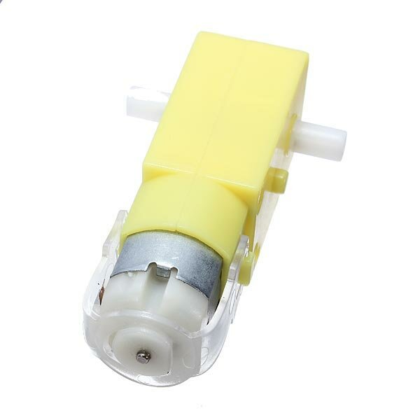 DC 3V - 6V Dual Axis Gear Motor 2 Axis TT Motor Reducer Motor For Arduino Smart Car