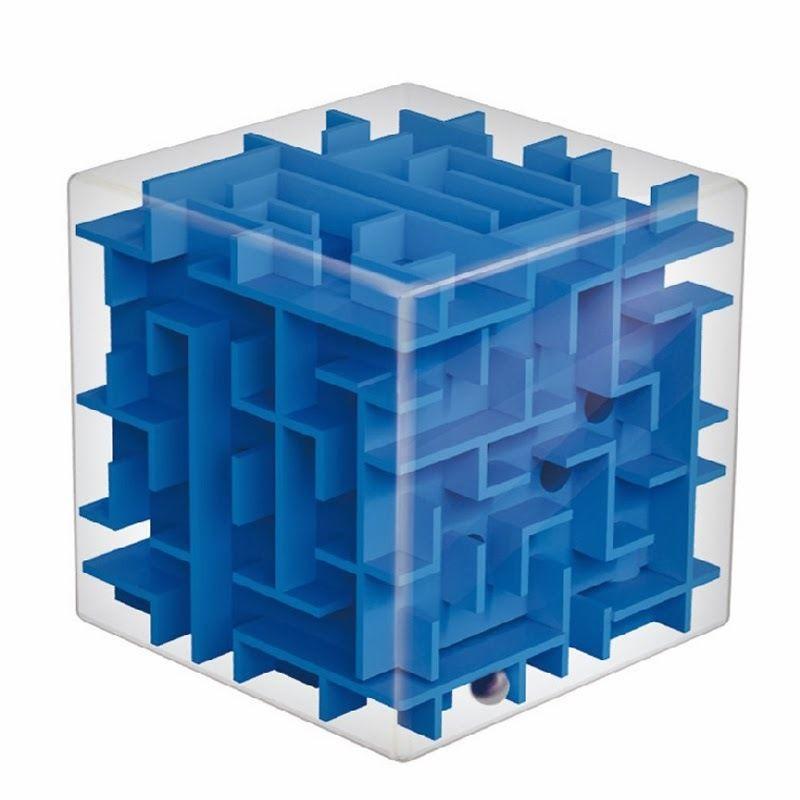 Juguete sumario equilibrio cerebral bola rodando mágico laberinto del cubo laberinto