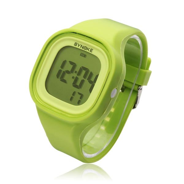 SYNOKE 66896 Silicone Jelly Sport Digital Men Women Wrist Watch - US$5.79 sold out