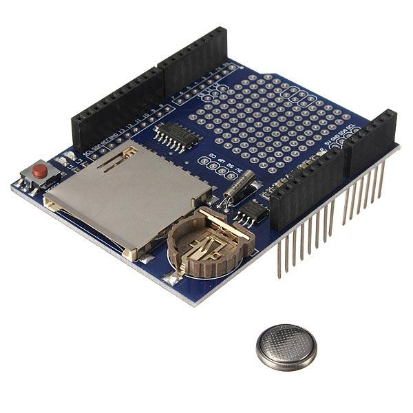 Logging Recorder Shield Data Logger Module For Arduino UNO SD Card