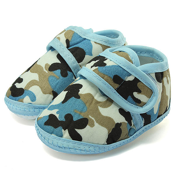 d1e0755dd941 Camouflage Soft Sole Crib Prewalker Shoes Baby Boy Infant Toddler - US 4.89  sold out