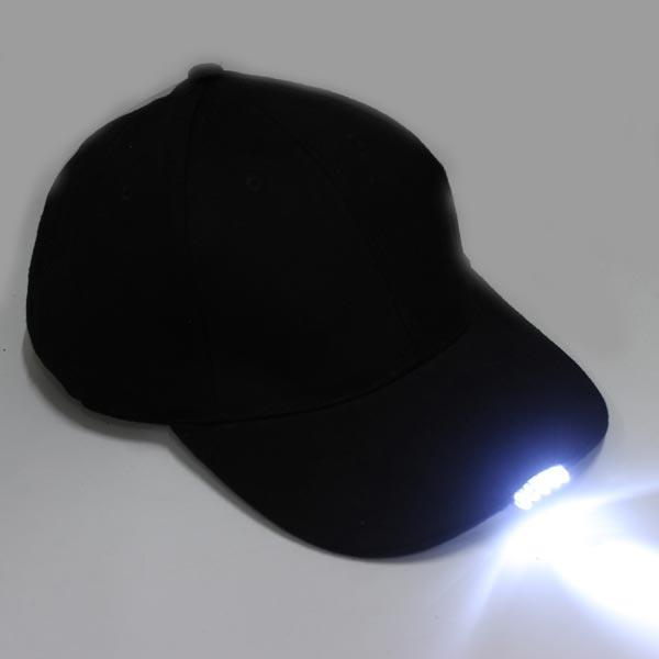 16e9b6870ed 5 LED Lighted Baseball Caps With Batteries Double Vision Hats - US 13.45