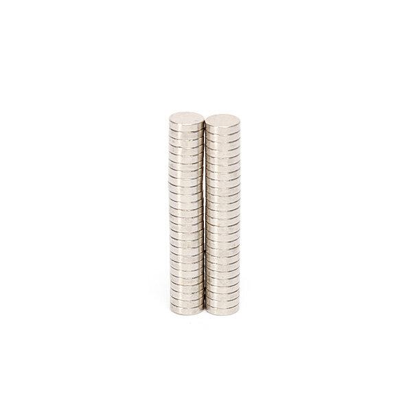 50pcs 6mmx1.5mm n50 imanes de neodimio ronda imán de tierras raras