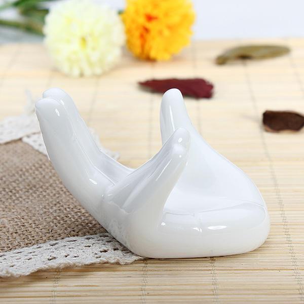 6 trous 12 trous ocarina support blanc élégant support de décoration