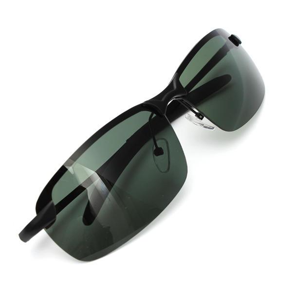 d07b80e8ad outdoor sunglasses dark green metal frame polarized sunglasses Sale ...