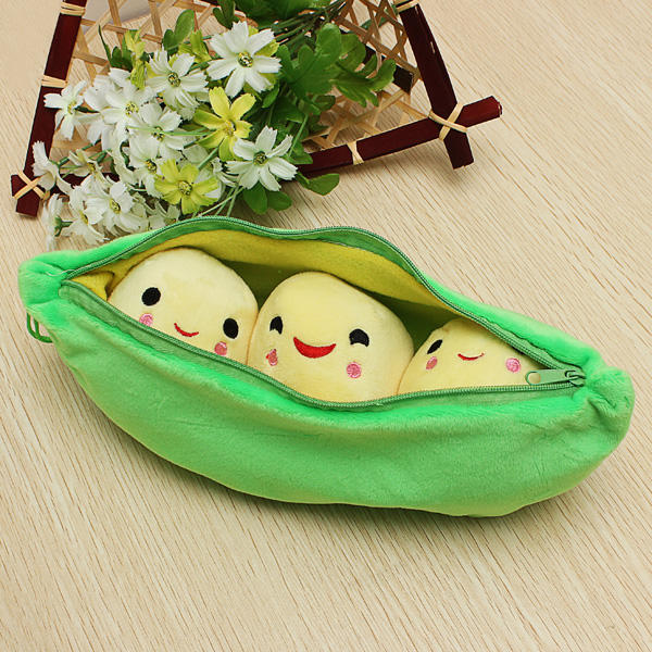 Plush Stuffed Toy Creativity 25CM Peasecod Holland Bean Doll