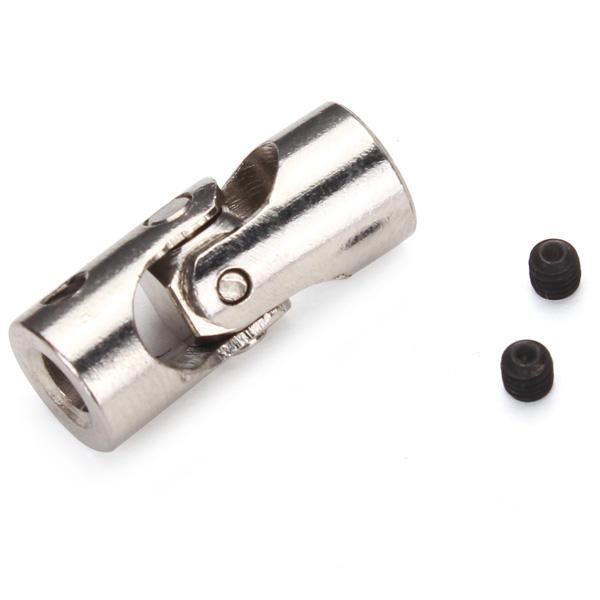 Conector de acero inoxidable junta universal rc coche / barco de metal 4 * 3.4 * 3.17 / 4 * 4.4 * 5.5 * 5.6 * 6 mm