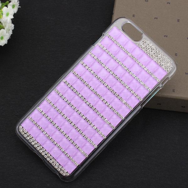 Sıcak Lüks Bling Crystal Rhinestone Kapak Kılıf iPhone 6 için