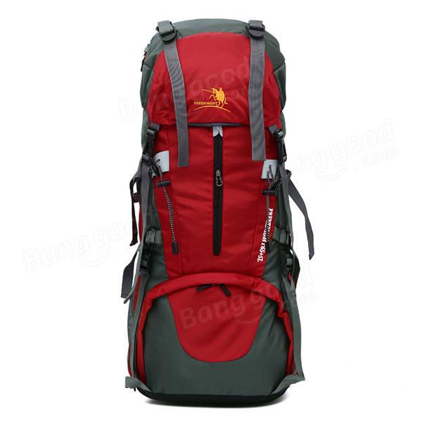 2ee6adc2ed Men Women Waterproof Outdoor Travel Nylon Climbing Big Capacity Backpack  Shoulder Bag COD