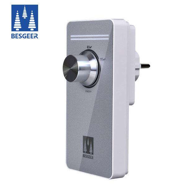 BESGEER Intelligent Sterilization House Home Office Air Purifier Ozonator Fresher Purifying Machine