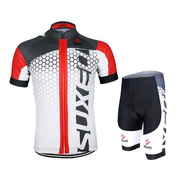 ARSUXEO Men Cycling Jersey Bike Bicycle Short Sleeves Jersey Mountain Bike  Clothing Shirts COD 9d45fe597