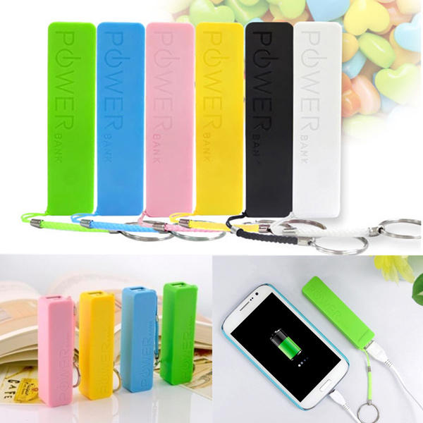 Mobile Power Case Box Usb 18650 Battery Cover Keychain For Consumer Electronics Consumer Electronics Accessories & Parts