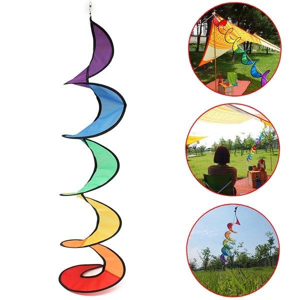 Fiore mulino a vento twister decorazione di festival filatore campeggio cortile giardino
