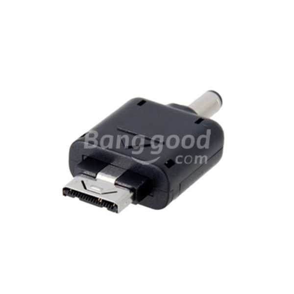 USB Charger Adapter Plug Connector For LG to Nokia (Black)