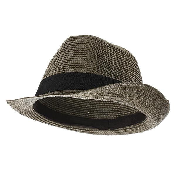 eeb473e515 Fashion Unisex Fedora Trilby Cap Summer Beach Adumbral Straw Hat
