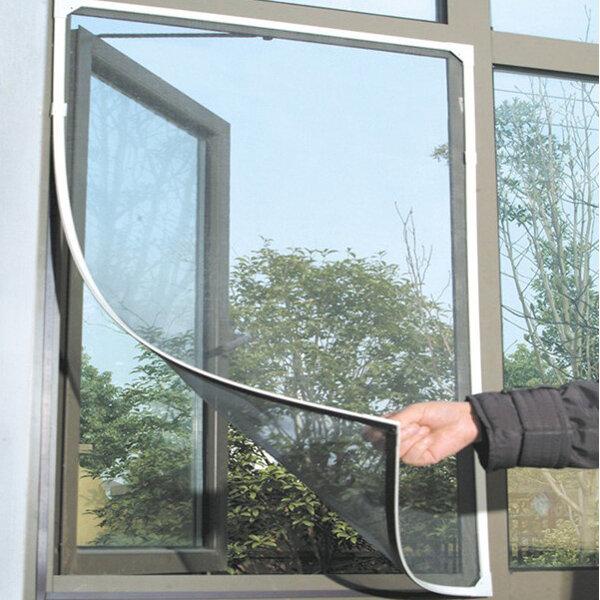 Honana WX-318 Blanc Maille pour Fenêtre Porte Moustique Insecte Ecran Gluant en Nylon Ruban Réseau