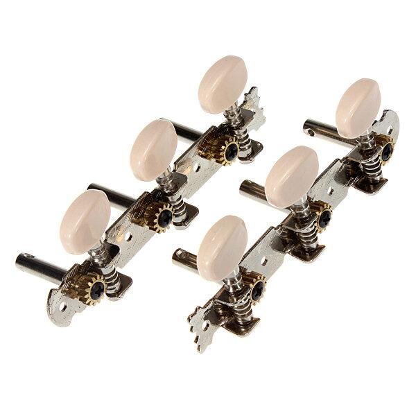 2 classical guitar tuner tuning keys pegs machine heads us. Black Bedroom Furniture Sets. Home Design Ideas