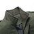 Veste de travail cargo en coton de couleur unie à épaulettes militaires pour hommes