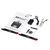 XK K130 2.4G 6CH Sin escobillas Sistema 3D6G Flybarless RC Helicóptero BNF Compatible con FUTABA S-FHSS