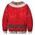 Felpa da uomo pullover felpa da uomo fantasia di Natale con stampa 3D da uomo
