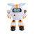 JJRC R14 KAQI-YOYO 2.4G Smart RC Robot Programmable Chantez Racontez Histoire Une Lumière Robot Jouet