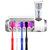 UB01 UV Light Toothbrush Sterilizer Box Ultraviolet Antibacterial Toothbrush Cleaner USB Rechargeable Toothbrush Holder