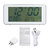 Electronic PM2.5 Detector Air Quality Tester Monitor Clock Timer USB Chargeable