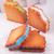 การจำลองแซนวิช Charm Biscuits กินฉัน Squishy ตกแต่งของเล่น Kawaii