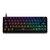 Geek GK64 64 Key Gateron Switch Hot Swappable CIY Switch RGB Backlit Mechanical Gaming Keyboard