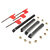 4pcs SCLCR/L SCMCN 12mm Lathe Boring Bar Turning Tool Holder With 10pcs CCMT09T304 Inserts