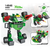 COGO 8 IN 1 25 Forms Robo Warriors Sword Shura Robots 739 Pieces Building Blocks & Bricks DIY Toys