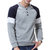 Mens Casual Sweaters V-Neck Slim Fit Button Knittwear Soft Long Sleeve Pullover