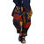 Mens Ethnic Style Printed Cotton Loose Baggy Bloomers Harem Pants