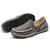 Men Soft Comfortable Knitted Fabric Slip-on Canvas Flats