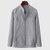 Mens Cotton Breathable Soft Comfort Long Sleeve Solid Color Shirts