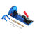 Wood Working Tool Pocket Hole Jig with Toggle Clamp and Step Drill Bit