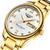 관신GJ16050고급남성기계식시계 골드 정밀 스틸 스트랩 자동 손목 시계