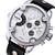 NORTH 6001 패션 남성 쿼츠 시계 캐주얼 듀얼 디스플레이 가죽 스트랩 스포츠 시계